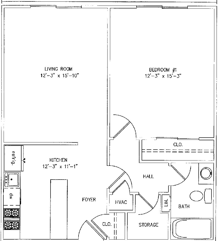 Floor Plans Of One Bedroom Apartment In Sea Grace Complex Pictures to ...